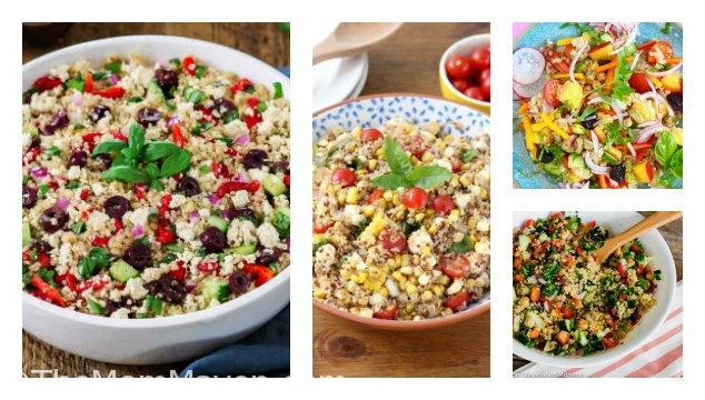 10 Quinoa Salads for a Healthy Summer