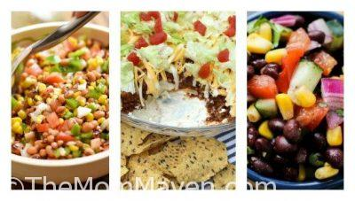 Wow! It's part seven of my Summer Sides and Dips series. We have just one more entry to this series next week. In this installment we have 8 Delicious Dips for summer entertaining.
