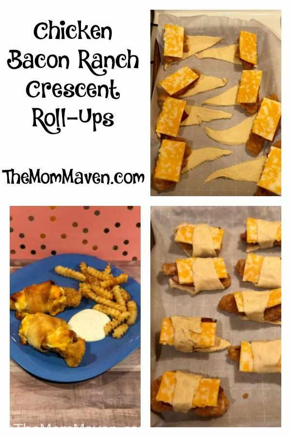 Chicken Bacon Ranch Crescent Roll-Ups make an easy lunch or dinner and they re-heat well so you can serve the leftovers too.