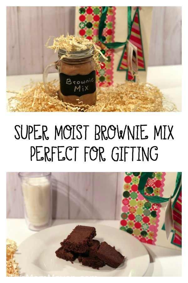 I love moist, chewy, sometimes gooey brownies and that is exactly what you get from this Super moist Brownie Mix.