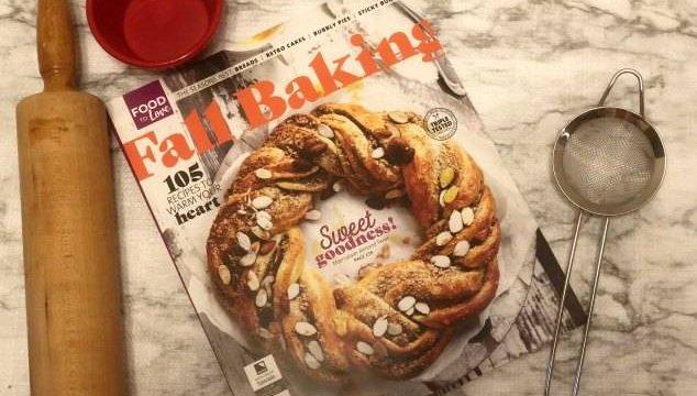 Fall Baking – Caramel Apple Streusel Pies