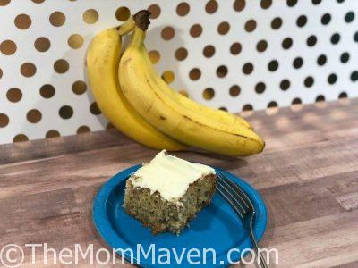 My favorite banana cake recipe
