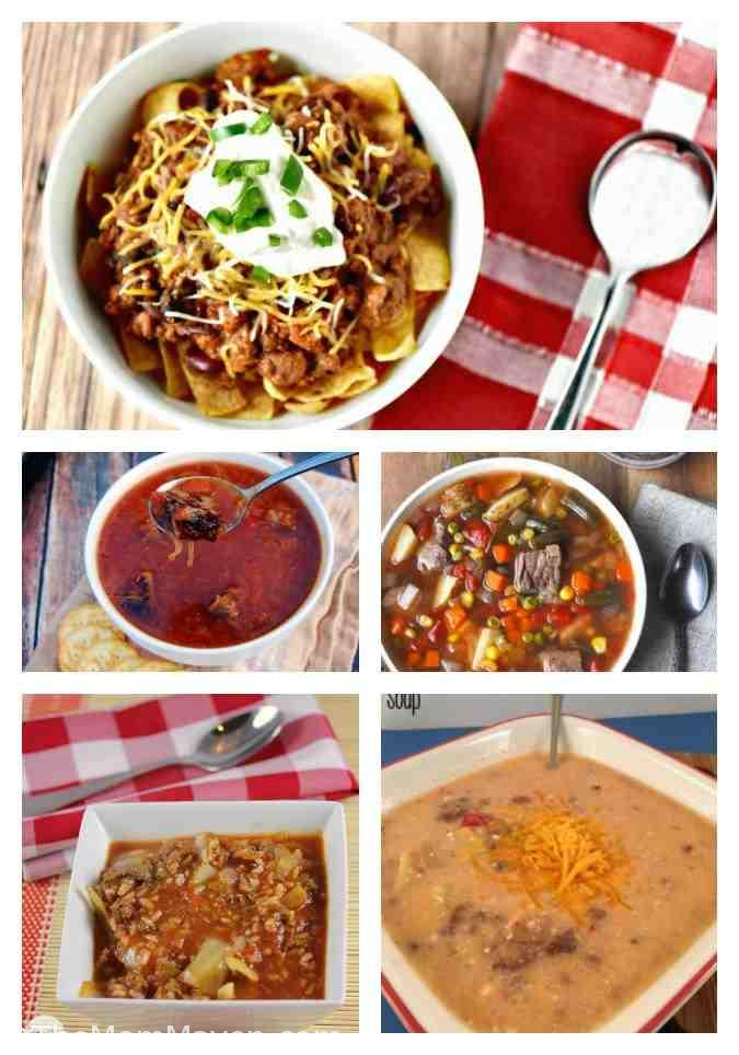 In preparation for the cooler temperatures I thought I'd gather some amazing Crockpot Soup Recipes for fall and share them with you.