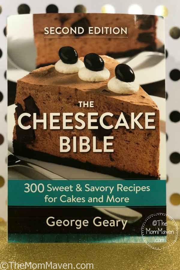 Oh my goodness! This Chocolate Chunk Peanut Butter Cheesecake recipe from The Cheesecake Bible is amazing!