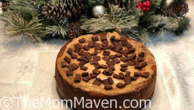 Chocolate Chunk Peanut Butter Cheesecake Recipe and Cookbook Review