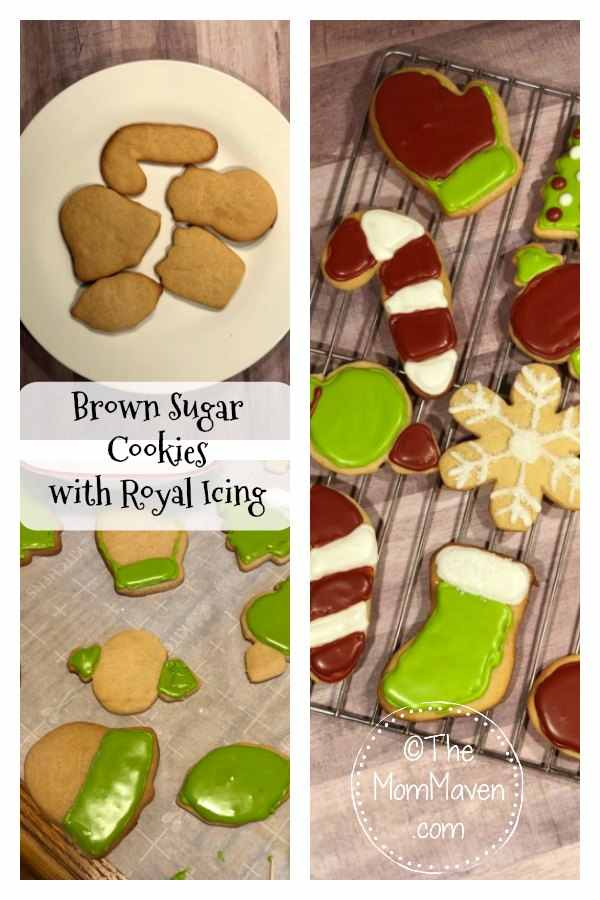 These Brown Sugar Cookies with Royal Icing were a labor of love. I had fun trying new decorating techniques. #recipe #cookies #christmas