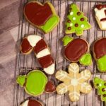 Brown Sugar Cookies with Royal Icing