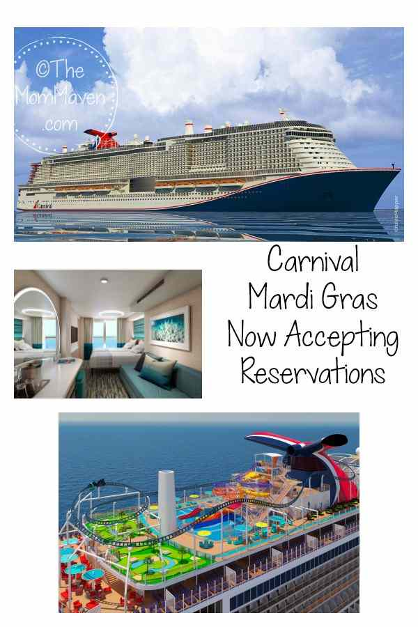 Carnival Cruise Line's Mardi Gras  is now open for sale of its inaugural schedule for 2020. The Carnival Mardi Gras will offer a diverse schedule with six- to 15-day sailings visiting top destinations throughout Europe and the Caribbean beginning in summer 2020.
