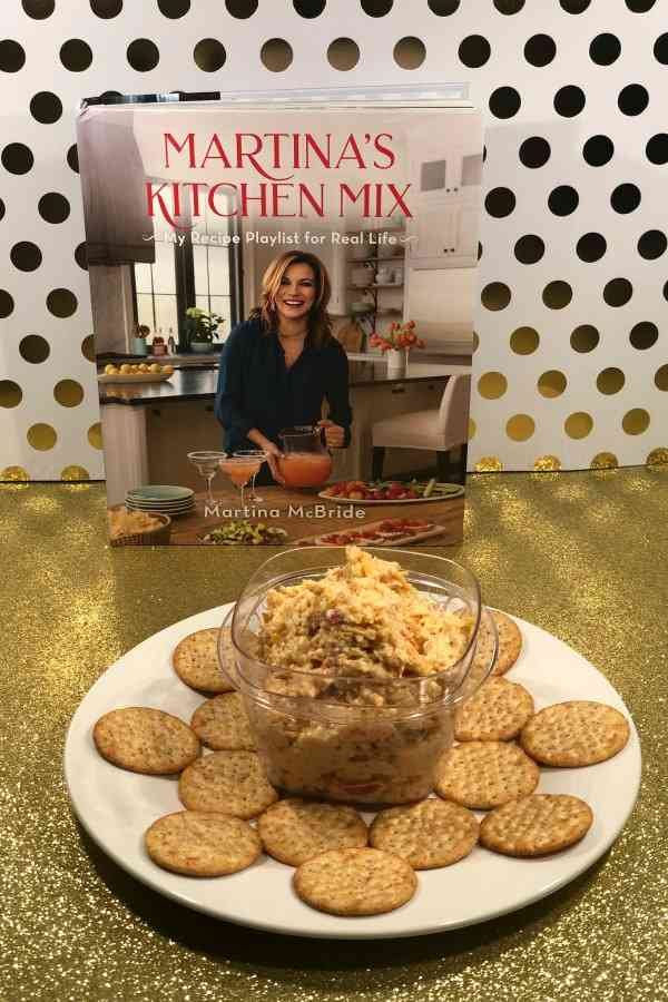 In her new cookbook Martina's Kitchen Mix: My Recipe Playlist for Real Life you'll find your own invitation to step inside Martina's kitchen and sample more than 150 of her favorite dishes, including her Smoked Gouda Pimento Cheese recipe.