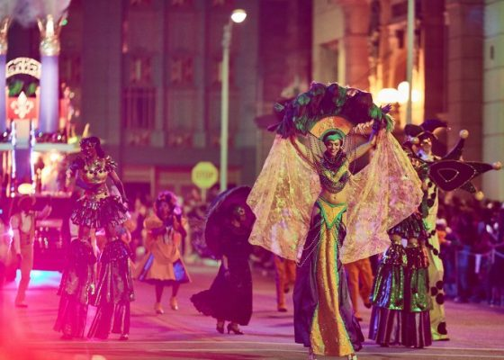 The Mardi Gras celebration at Universal Orlando is a family-friendly version of the renowned New Orleans extravaganza.