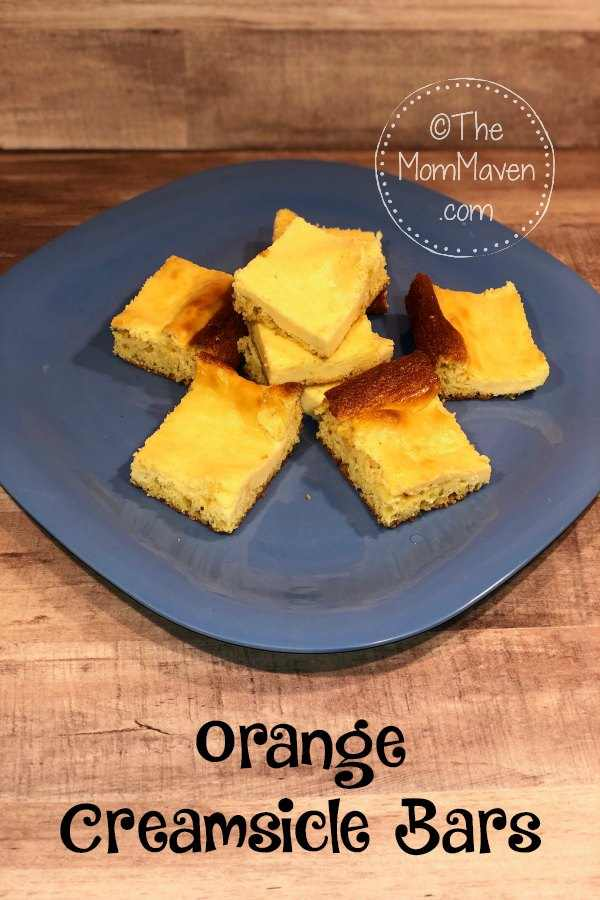 These Orange Creamsicle Bars are a refreshing spring or summertime treat.