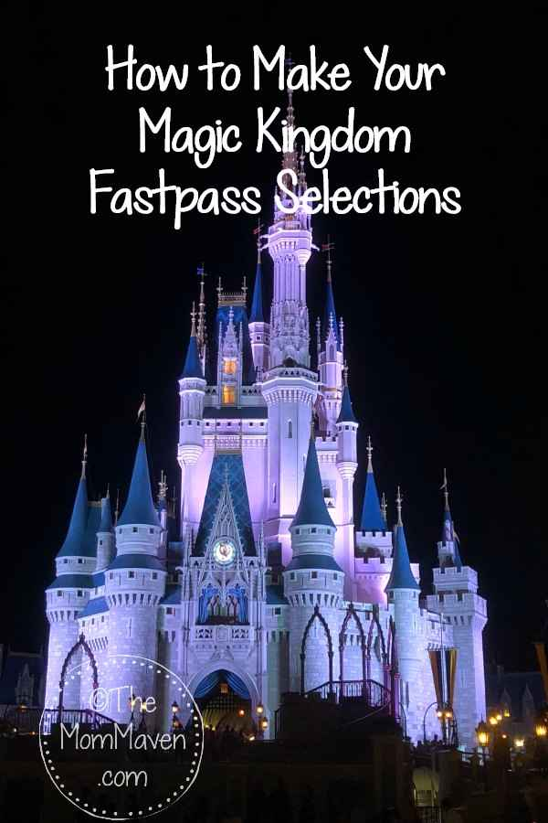 There are 25 attractions to choose from in Disney's Magic Kingdom Fastpass system. How do you know which 3 to choose? Let me help you!