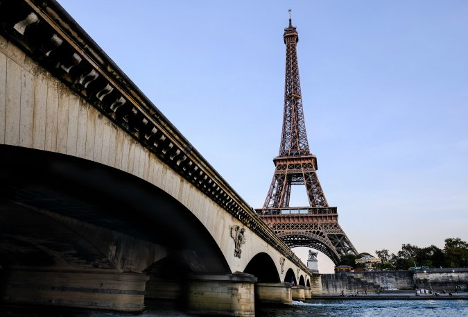 Adventures by Disney River Cruise-France Eiffel Tower