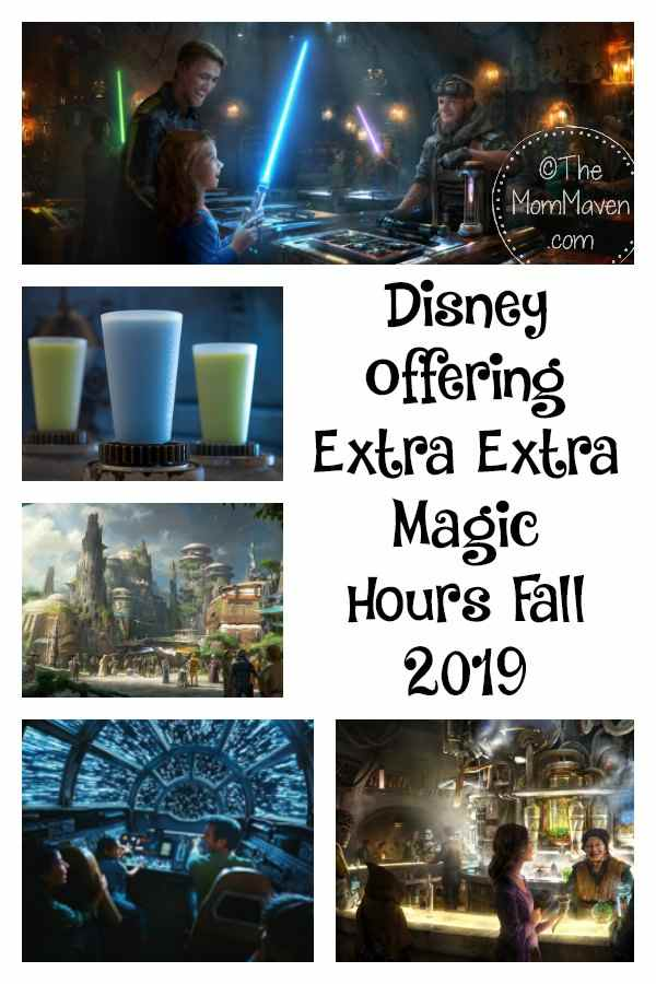 To help combat the crowds, Walt Disney World is unveiling Extra, Extra Magic Hours September 1- November 2nd. Extra Magic hours are one of the many perks for staying at a Walt Disney World Resort Hotel, and a few other select resorts.