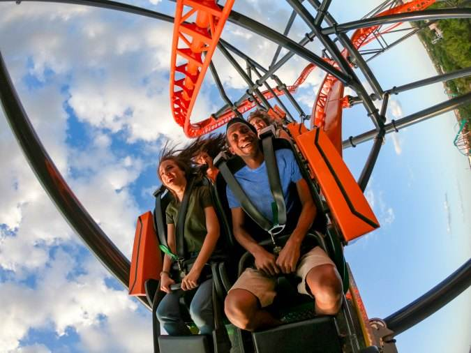 Pass Members enjoy exclusive ride time on Tigris