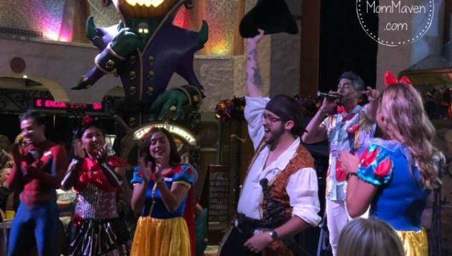 The Fun Squad on the Carnival cruise lineLiberty 2018 Halloween Cruise.