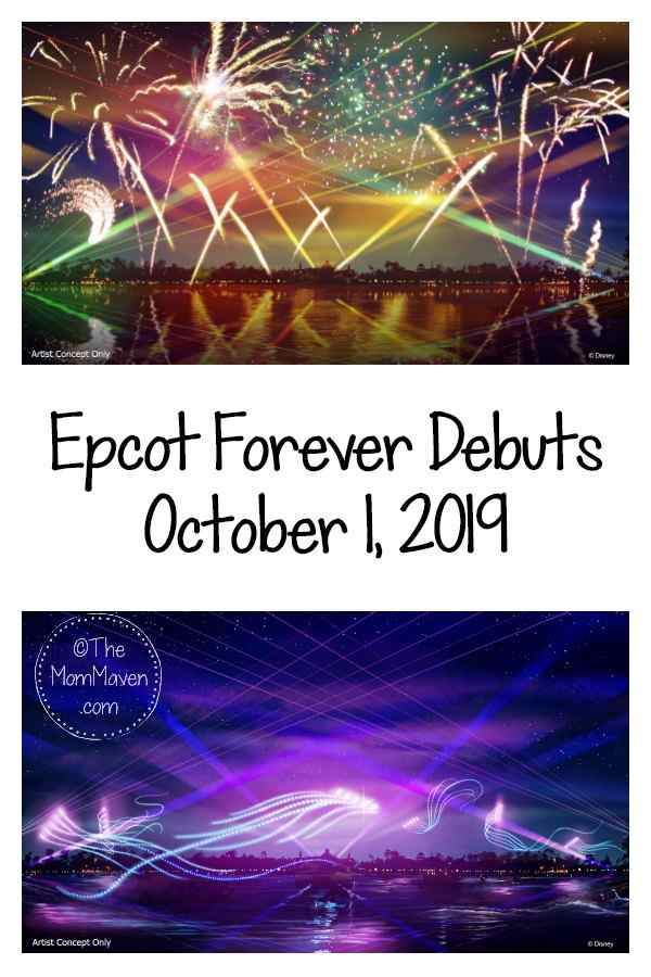 """Epcot Forever,"" a new nighttime spectacular at Walt Disney World Resort, will debut Oct. 1, 2019, on World Showcase Lagoon at Epcot."