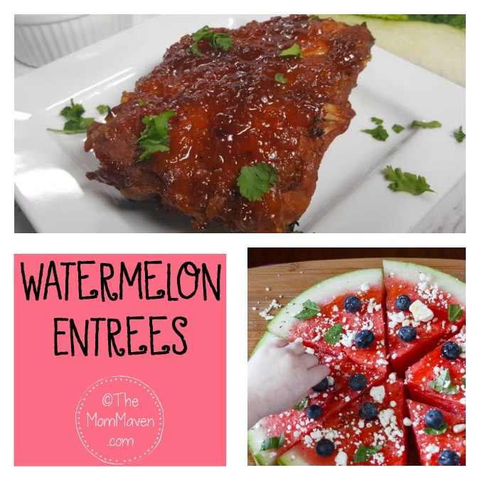 2 watermelon entrees
