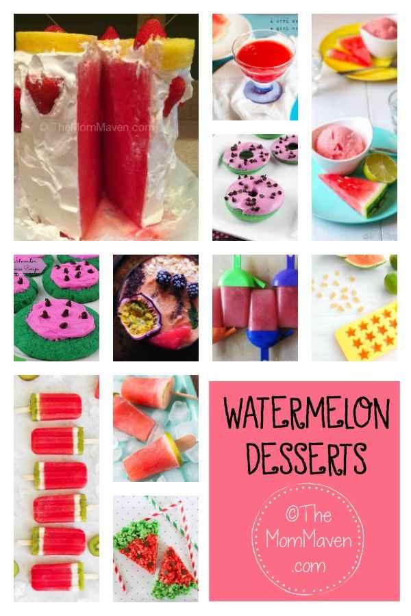 11 watermelon desserts