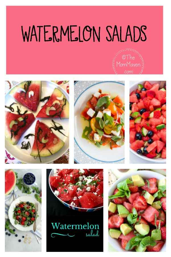 6 watermelon salads