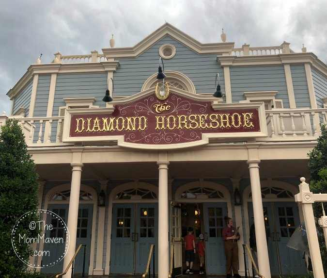The Diamond Horseshoe is an affordable and delicious barbecue restaurant in Frontierland at Walt Disney World.