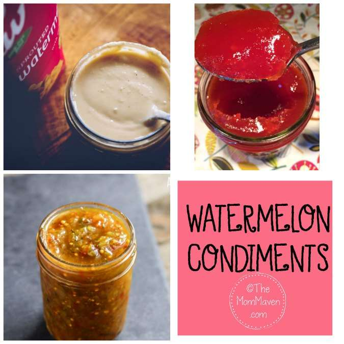 watermelon condiments