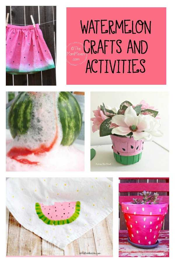 watermelon crafts and activities