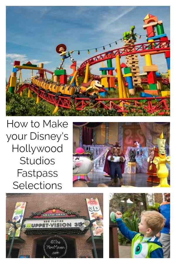 Choosing your Disney's Hollywood Studios Fastpass selections can be confusing because of the two tier system. I am here to make the process easier.
