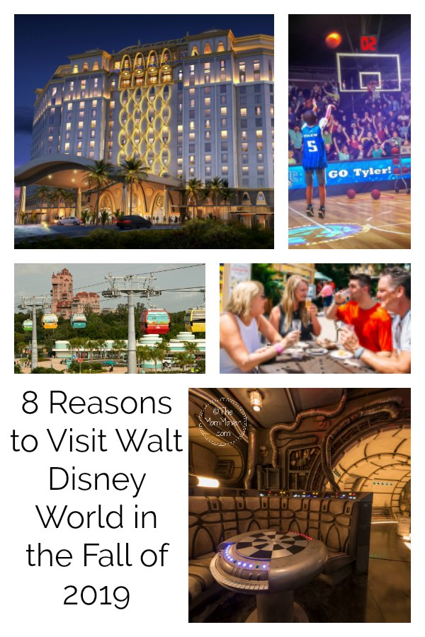 8 reasons to visit Walt Disney World in the fall of 2019.