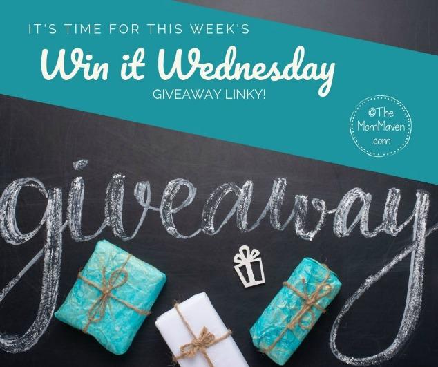 Win it Wednesday Giveaway Linky 8-24-19 - The Mom Maven