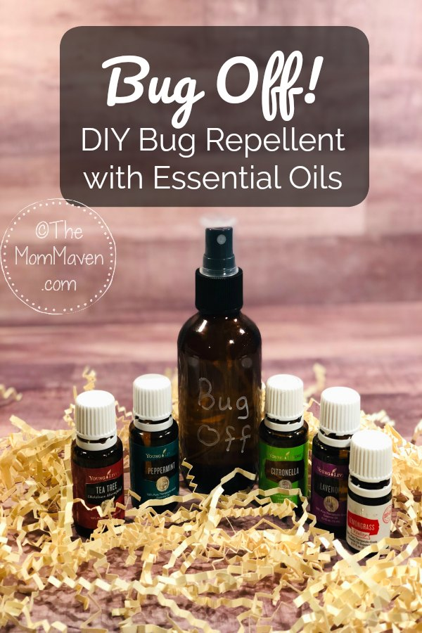 Bug Off DIY Bug Repellent with Essential Oils