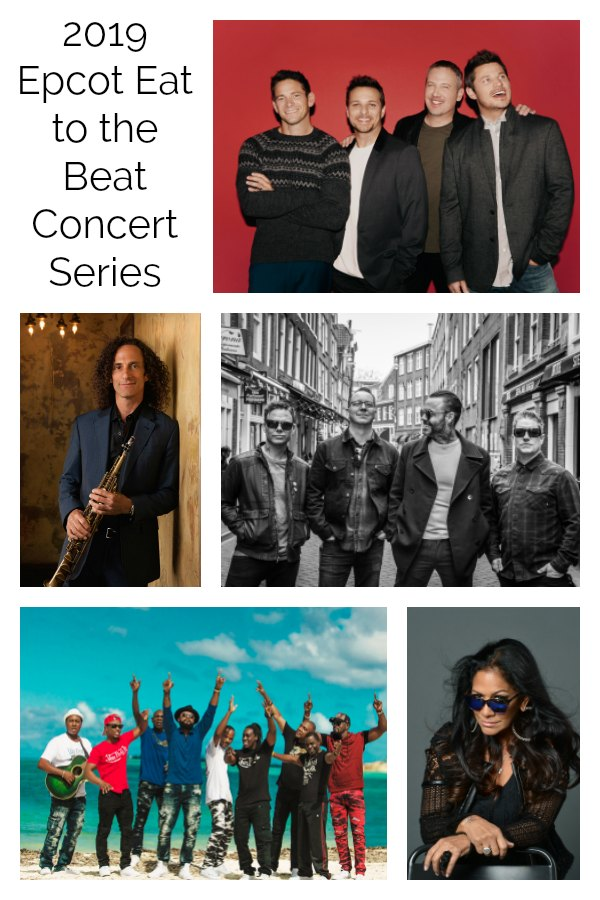 Three times nightly, the Eat to the Beat Concert Series – 249 concerts in all – will rev up fans at the America Gardens Theatre stage through Nov. 19 with the biggest musical menu of top talent in the festival's history,