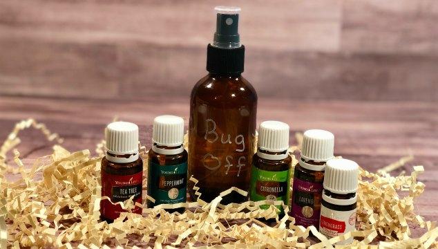 Bug Off DIY Bug Repellent with Essential Oils