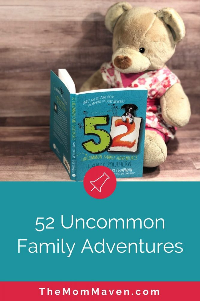 Finding time to schedule and plan family fun can, at times, seem daunting. That is where 52 Uncommon Family Adventures by Randy Southern comes into play.