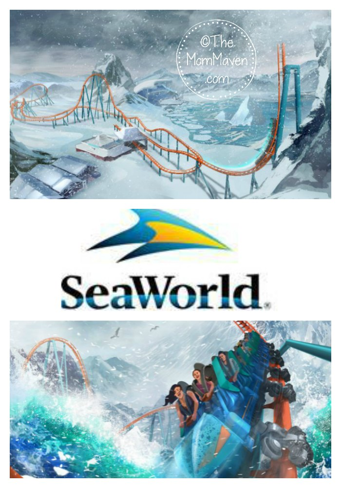 Making its debut in spring 2020, riders will shiver through family friendly adventures on SeaWorld Orlando's first launch coaster: Ice Breaker.