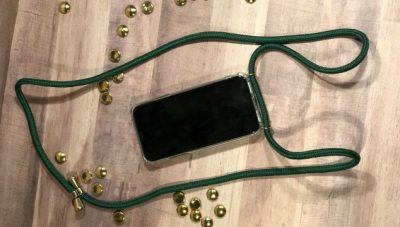 Keebos iPhone necklaces keep you hands-fee and carefree.