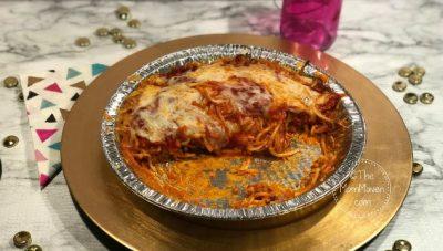 leftover spaghetti pie