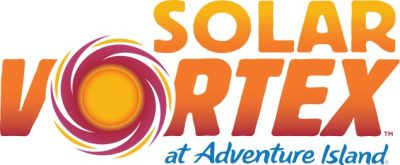 Solar Vortex will be an electrifying new ride for families next year when it opens with the 2020 Adventure Island season.