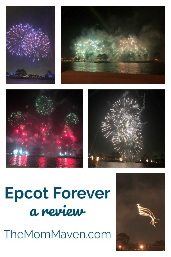 Across the canvas of a darkened sky, the new Epcot Forever nighttime spectacular that debuted 10-1-19 at Walt Disney World Resort celebrates the past, present and future of Epcot.