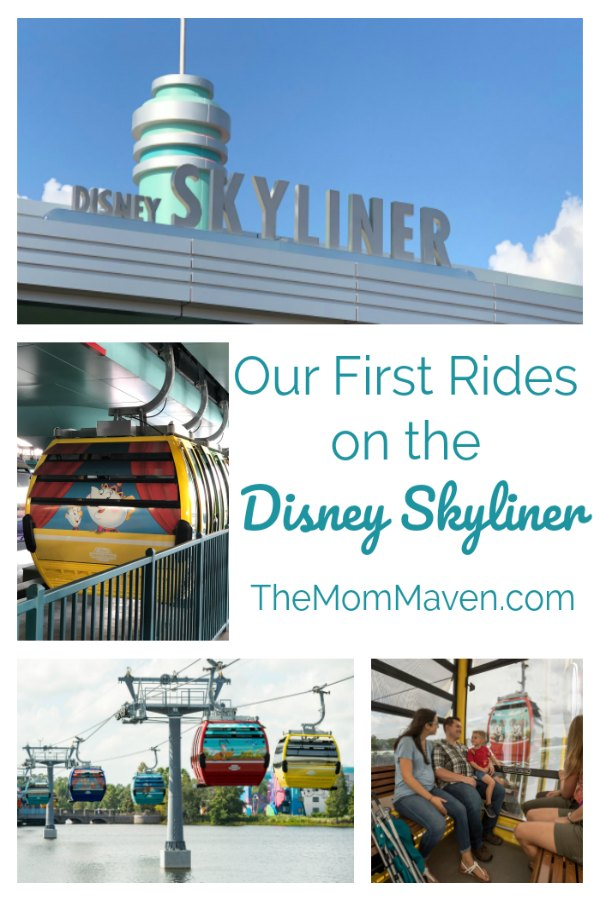 "Disney Skyliner, the ""most magical flight on Earth"" took to the skies September 29, 2019."