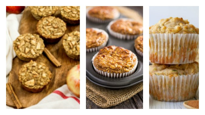 5 apple muffin recipes