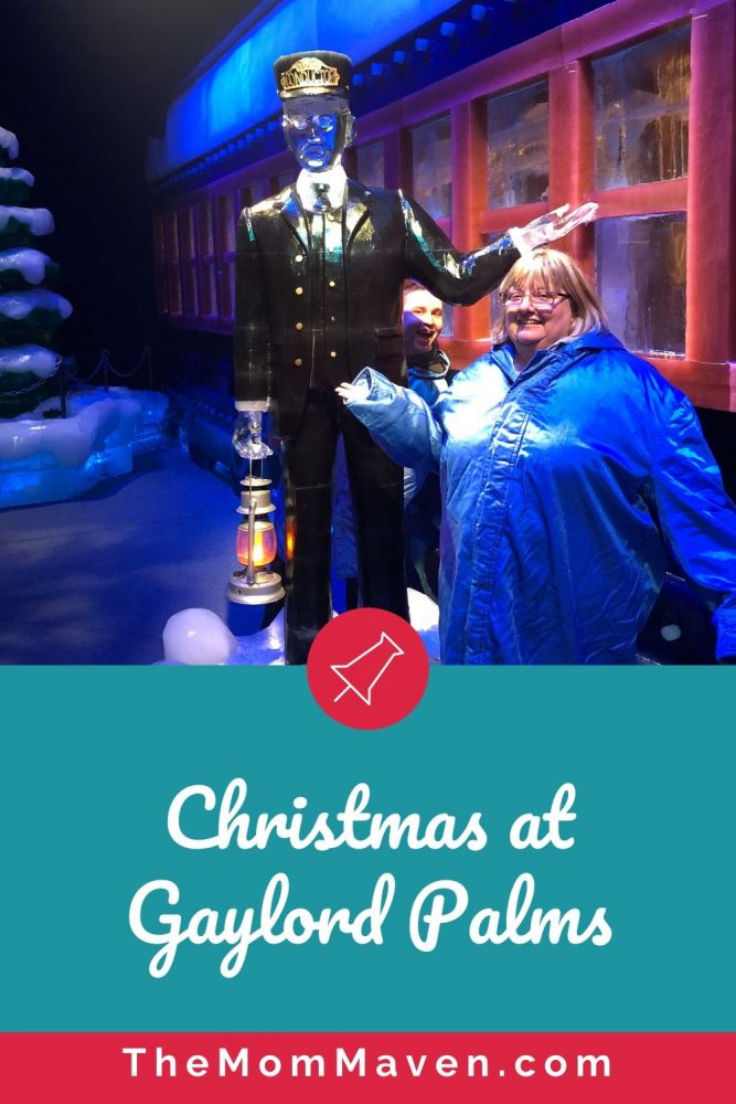 The whole family will enjoy the holiday activities at Christmas at Gaylord Palms, especially ICE! featuring The Polar Express.