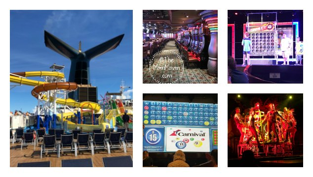 Have you ever wondered, what's there to do on a Carnival Cruise? There's plenty to do and you can choose how much or little you want to do!