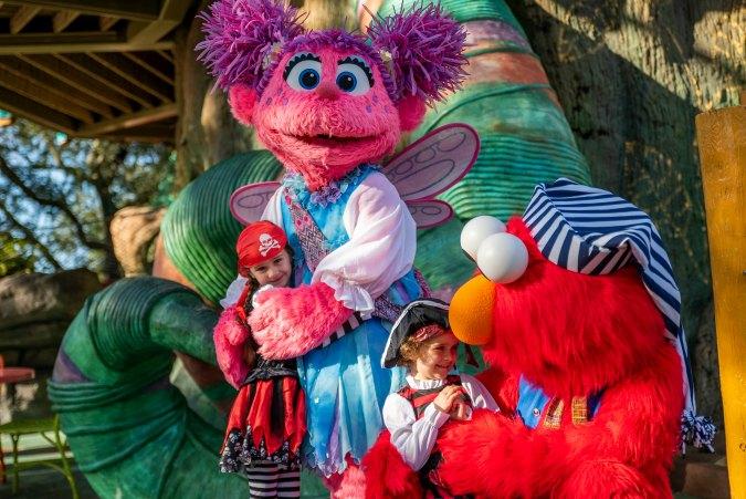 Sesame Street pirates