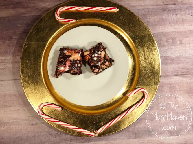 Perfect for any Christmas gathering, these Chocolate Peppermint Cheesecake Bars are simple to make!