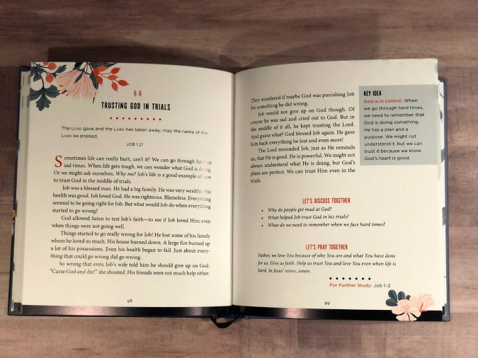 The goal of the Faith Forward Family Devotional is to help you raise faith-filled kids who know, love, and live for God