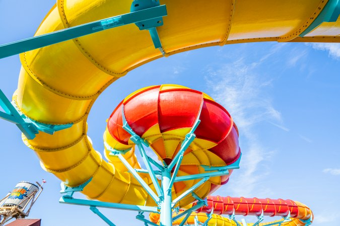 Adventure Island kicks off its 2020 season on Friday, March 13, with the opening of Solar Vortex - America's FIRST dual tailspin water slide!
