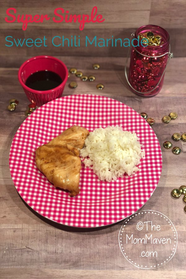 Want to add some heat and tang to boring chicken breasts? Try this super simple, 2 ingredient, Sweet Chili Chicken Marinade.