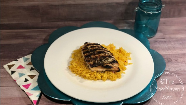 These Easy Indoor Grilled Chicken Breasts start out on the stove top for a good sear then they finish in the oven to finish cooking.