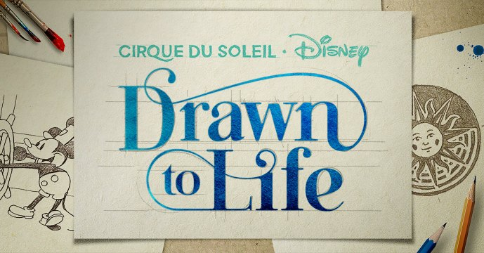 Cirque du Soleil and Disney Parks are thrilled to announce Drawn to Life, the highly anticipated, new family friendly show coming to Disney Springs.